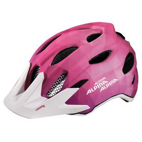 Alpina Carapax Flash Helmet Juniors pink-white